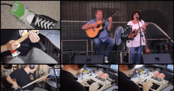 DerEnte - Verschöner meinen Song - (Wulli&Sonja) - DIY-Instrumente