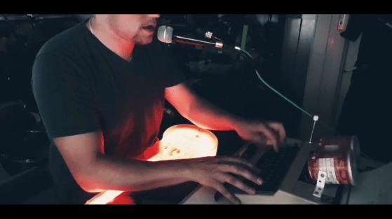 DerEnte - Ich jag euch... (live loop)
